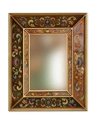 NOVICA MI0015 Golden Coat of Arms' Mirror