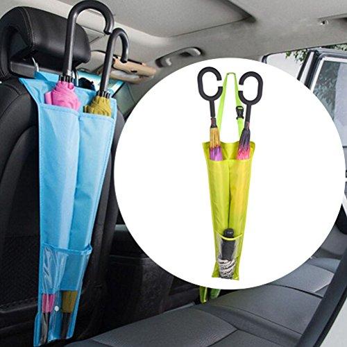 Waterproof and Foldable Car Umbrella Holder - 7
