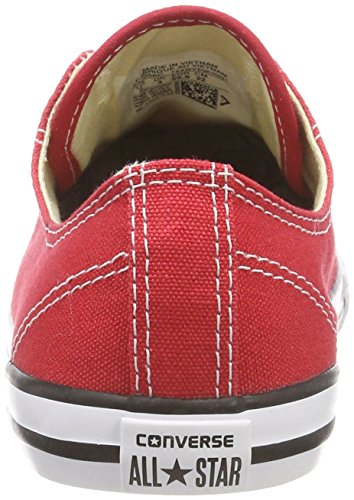 Converse Dainty Sneakers Rouge Ox Donna As da Red F4qB1