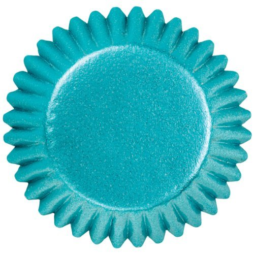 Wilton Candy Cups, 1-Inch, 75-Pack, Blue Foil