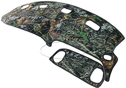 NEW Mossy Oak Camouflage Tailored Dash Mat Cover / Fits: 98-01 DODGE RAM TRUCK