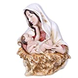 A Child's Touch Madonna & Child 7 inch Joseph's Studio Stone Bust