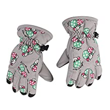 bargain house Unisex Kids Thinsulate and Waterproof Cold Weather Ski Gloves