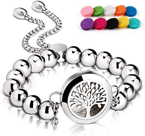 RoyAroma Aromatherapy Essential Stainless Wristband product image