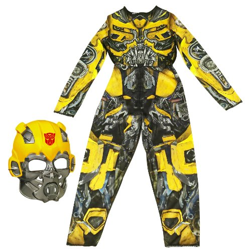 Bumble Bee Transform Costume (Transformers: Dark of the Moon - Robo Power - Costume Bumblebee (Small))