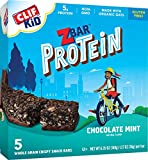 Cheap CLIF KID ZBAR – Protein Snack Bar – Chocolate Mint (1.27 Ounce Bar, 5 count) (packaging may vary)
