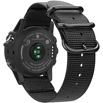 Amazon.com: Garmin silicona Replacement Reloj Pulsera Banda ...