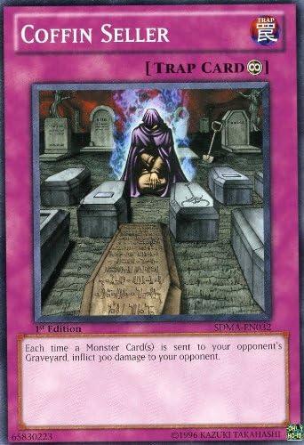 Coffin Seller SDMA-EN032 Common Yu-Gi-Oh Card 1st Edition New