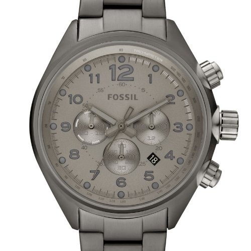 Amazon.com: Fossil Mens Quartz Stainless Steel Casual Watch, Color:Grey (Model: CH2802): Fossil: Watches