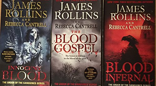 Order of the Sanguines Series Set by James Rollins