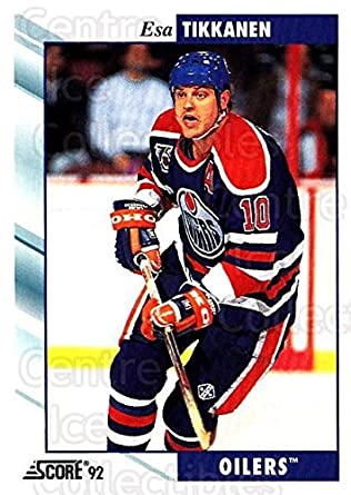 479446dfc Amazon.com  (CI) Esa Tikkanen Hockey Card 1992-93 Score USA (base ...