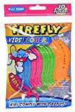 Firefly Kids Flossers 30 Count (12 Bags) by Dr. Fresh