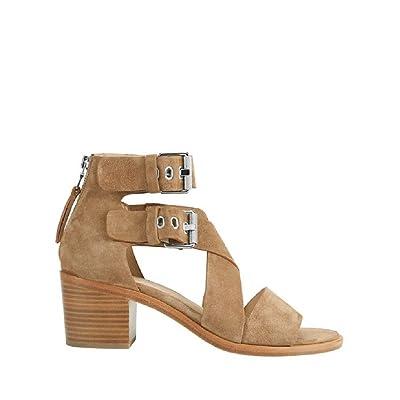 Rag & Bone Madrid Camel Suede Sandals