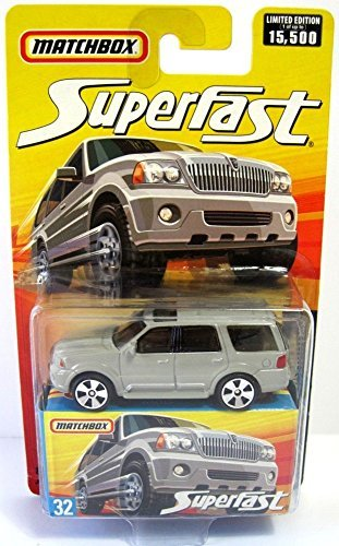 Matchbox Superfast #32 Lincoln (Lincoln Navigator Vehicle)