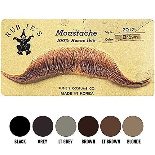 Rubie's Costume Co Gentlemans Blonde European Mustache, One Size