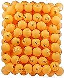 (US) MAPOL 100 Orange 3-star 40mm Table Tennis Balls Advanced Training Ping Pong Ball