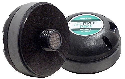Pyle PDS442 1.75-Inch Titanium Horn Driver 8 Ohm 13/8-Inc...