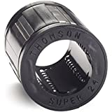 Thomson SUPER16, Ball Bushing Bearing, Super, Closed, for end supported applications, self-aligning; use with 1 in Diameter Shaft