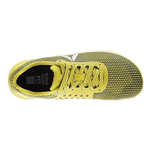 Reebok Homme black Nano silver giallo Jaune 0 Chaussures Bright R Yellow Fitness De 7 Crossfit white rqZwr8H