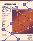 Introduction to Management Science, Anderson, David R. and Sweeney, Dennis J., 0314210970