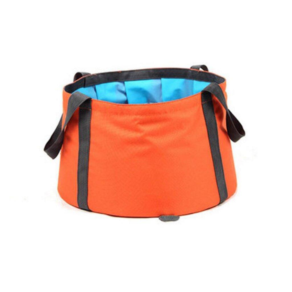 Lavabo plegable Liuyu · Hogar al Aire Libre Ultraligero de Viaje portátil multifunción pie baño Cubo de Pesca al Aire Libre 10L (Color : Azul)
