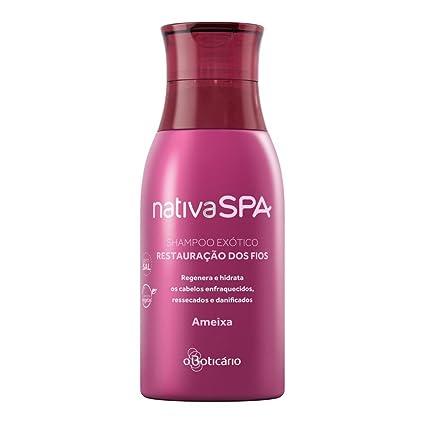 Linha Nativa Spa Boticario - Shampoo Exotico Restauracao dos Fios ...