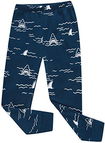 Boys Shark Pajamas Little Boys Toddler PJs Clothes Shirts & Pants Kids Sleepwear Size 5 by shelry (Image #3)