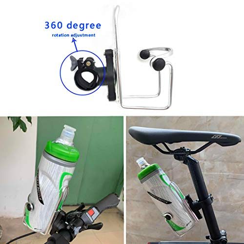 Bicycle Water Bottle Holder Alloy Cycling Cage Rack Sports MTB Bike Accessories@