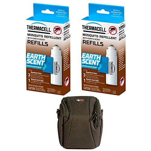 (Thermacell Earth Scent Refill Single Pack (E-1): Natural Scent for Fishing and Hunting - 2-Pack)