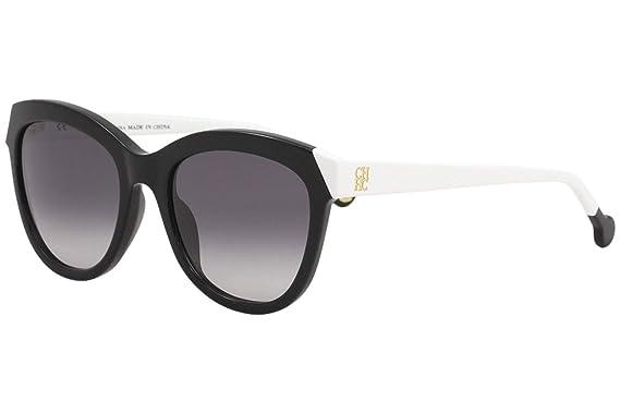 Amazon.com: Carolina Herrera Designer Sunglasses SHE743-0700 ...