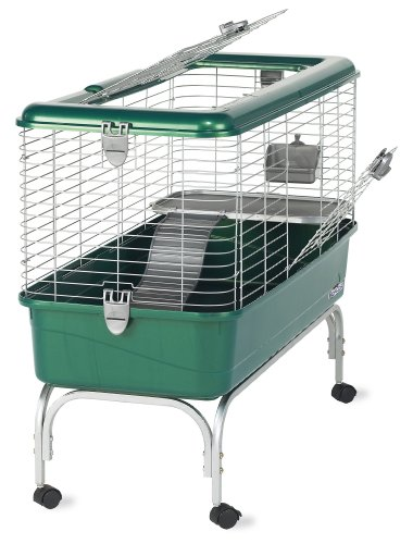 Indoor Rabbit Cage With Stand and Casters