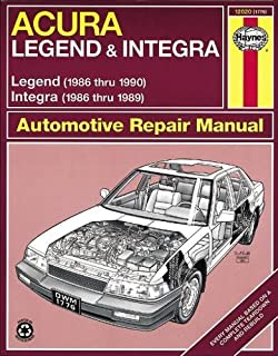 Haynes Acura Integra (1986-1989) & Legend ...