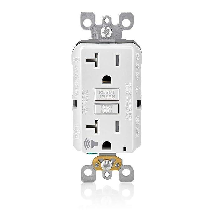 Amazon.com: Leviton GFTA2-W SmartlockPro GFCI - Detector de ...