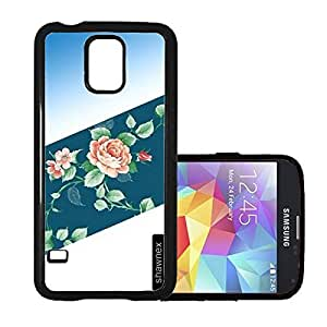 Rose Floral Pattern Thinshell Case Protective S5 Case