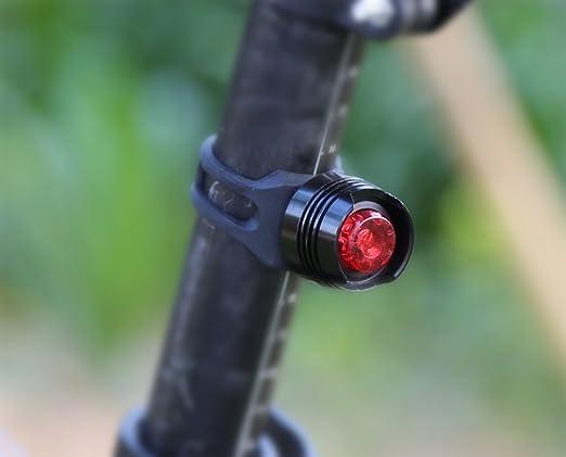 Amazon.com : Bike Light Set, Bike Front Flashlight and Rear Bike Light, Super Bright and Waterproof LED Headlight and Taillight - Fits All Bikes : Sports & ...