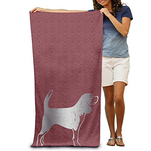 Hunting Dog E331 Platinum Style 31 5 51  Beach Towel