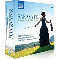 Sarasate: The Complete Works for Violin & Orchestra [Box Set]