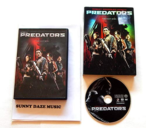 Predators Widescreen Slipcase Edition – 2thCentury Fox 2010 – A Used DVD Movie – Graded 9.5 By The Seller – Adrien Brody – Includes Extras Features And Motion Comics Vignettes