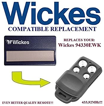 Splendid Wickes Ewk Mhz Remote Control Compatible Amazoncouk  With Great Wickes Ewk Mhz Remote Control Compatible Transmitter  Replacement Top Quality Fob With Astounding Letchworth Garden City Postcode Also Andover Garden Center In Addition Shade In The Garden And Garden Room Extensions As Well As Savage Garden Music Additionally Buenos Aires Botanical Garden From Amazoncouk With   Great Wickes Ewk Mhz Remote Control Compatible Amazoncouk  With Astounding Wickes Ewk Mhz Remote Control Compatible Transmitter  Replacement Top Quality Fob And Splendid Letchworth Garden City Postcode Also Andover Garden Center In Addition Shade In The Garden From Amazoncouk