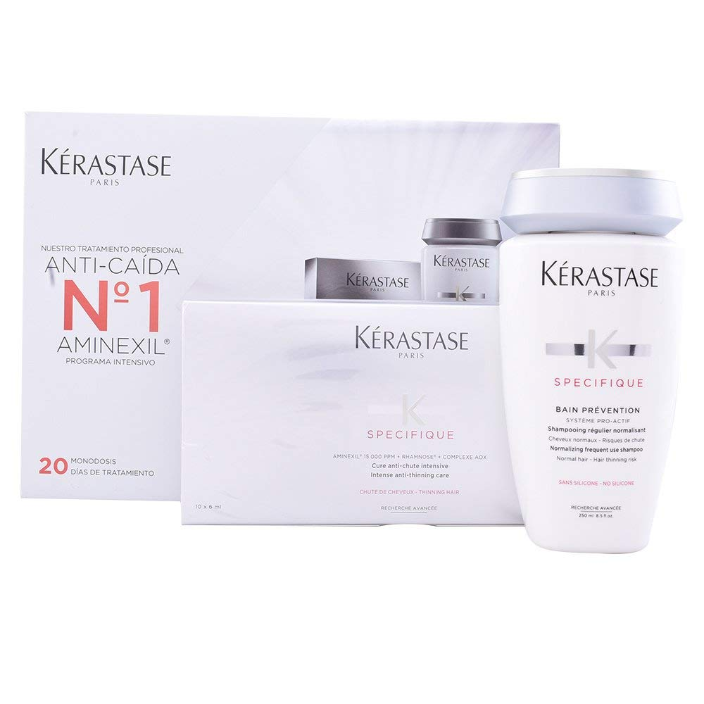 Kérastase, Producto para la caída del cabello - 2 piezas: Amazon.es: Belleza