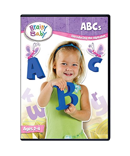 Brainy Baby ABCs DVD Introducing the Alphabet A to Z Deluxe Edition