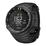 Watches : SUUNTO Core All Black Military Men's Outdoor Sports Watch - SS014279010