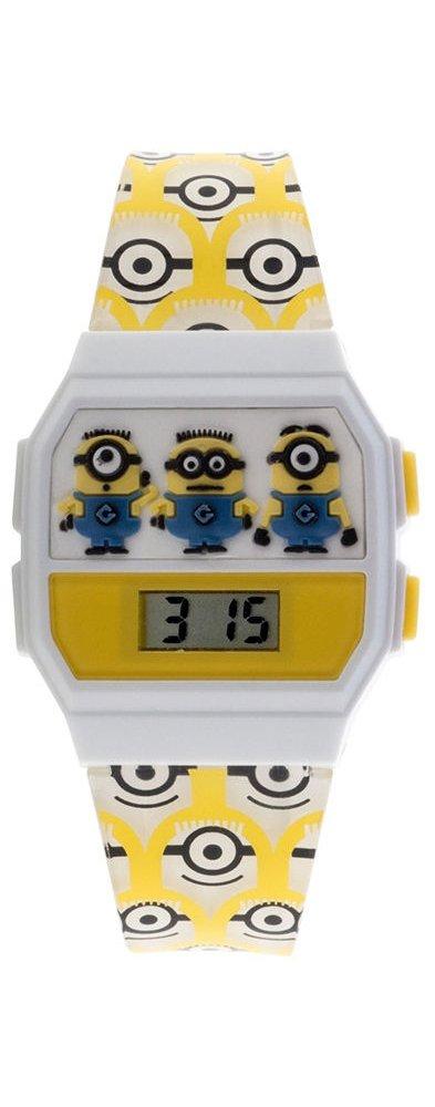 Minions Yellow Band Childrens Digital Wrist Watch