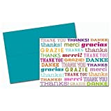 Multi Language Thank You Cards