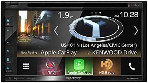 Kenwood Excelon DNX695S 6.8 WVGA double-DIN Navigation DVD Receiver