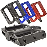 Lumintrail PD-882B MTB BMX Road Mountain Bike Bicycle Platform Pedals Big Foot Flat Alloy 9/16