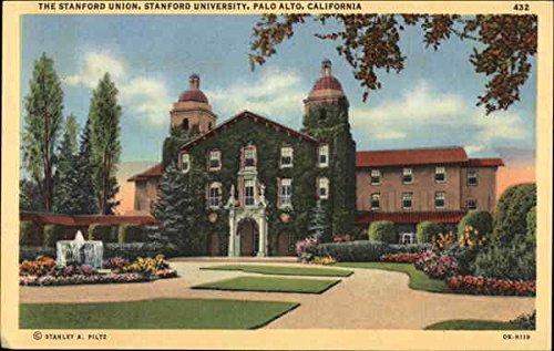 The Stanford Union, Stanford University Palo Alto, California Original Vintage - Palo Stanford Alto