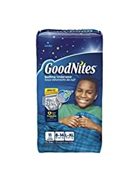 GoodNites Bedtime Pants Jumbo, Boys Large/XL, 60-125 lbs, 41315 (Case of 44) BOBEBE Online Baby Store From New York to Miami and Los Angeles