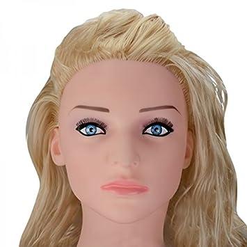 Amazon.com: Realista 100% látex Vibrating Blow Up Sex Doll ...