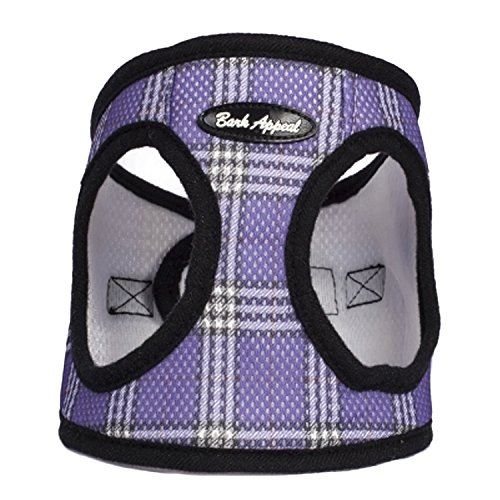 Plaid Mesh EZ Wrap Harness (Medium, (Plaid Step)